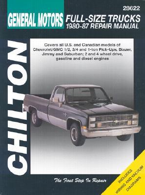 Chilton's General Motors Full-Size Trucks By Freeman, Kerry A. (EDT)